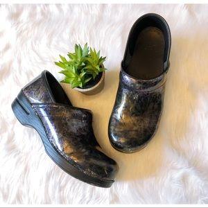 Dansko Holographic Clog Nursing Shoes 40
